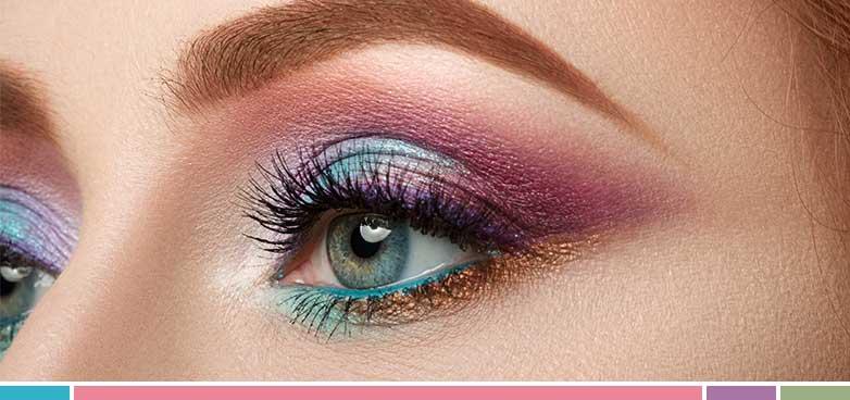 ¡Ya llega el verano! Aquí os mostramos las tendencias de maquillaje más punteras y las que darán mucho color a tus ojos.