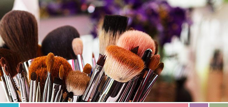 Mantén unas normas de higiene a la hora de usar tus brochas de maquillaje