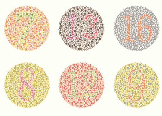 Diagnostico de los colores que ve un daltónico