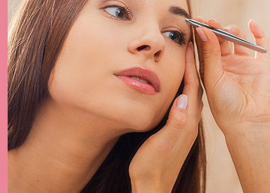 Consejos para depilar las cejas