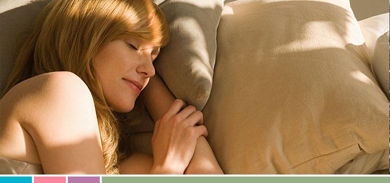 Dormir bien para descansar la vista