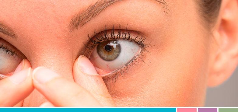 fotos de infecciones en los ojos