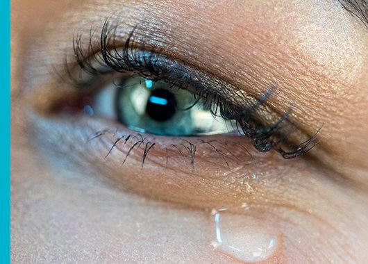 Por qué con el frío lagrimean los ojos