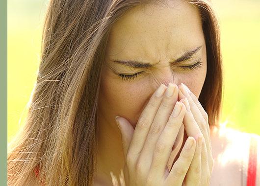 La alergia ocular estacional