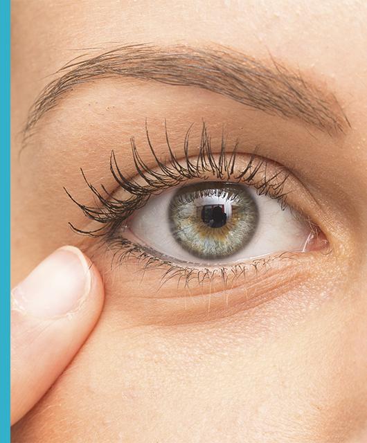 Patologías asociadas a los ojos y al contorno de ojos